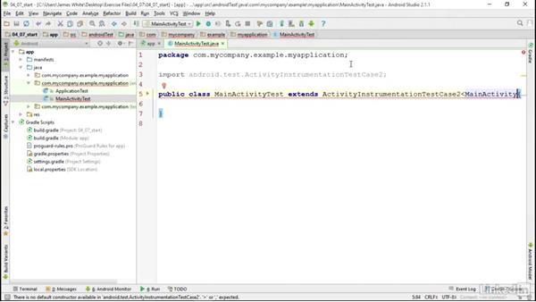 Alternate Android testing tools: Robotium: Android SDK Unit Testing