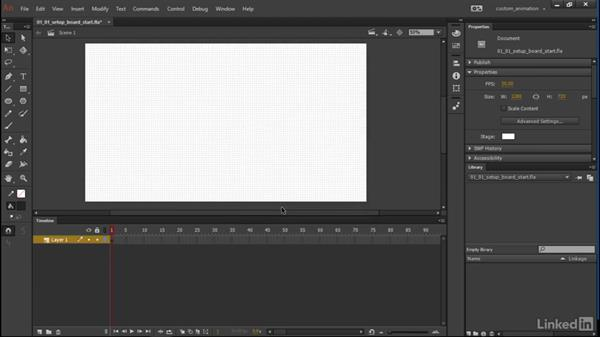 Setup: Learn Adobe Animate CC: Animation