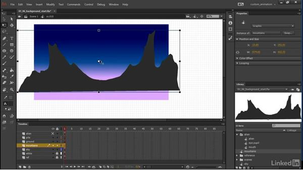 Environments: Learn Adobe Animate CC: Animation