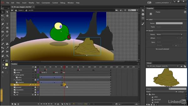 Stagger: Learn Adobe Animate CC: Animation