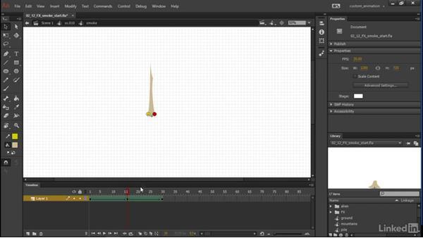 FX Smoke: Learn Adobe Animate CC: Animation