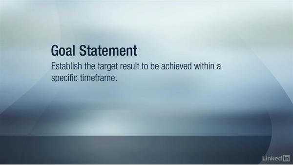 Problem and goal statements: Six Sigma Fundamentals