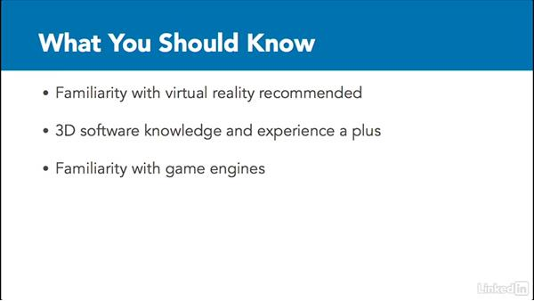 What to know: 3D Content Creation for Virtual Reality
