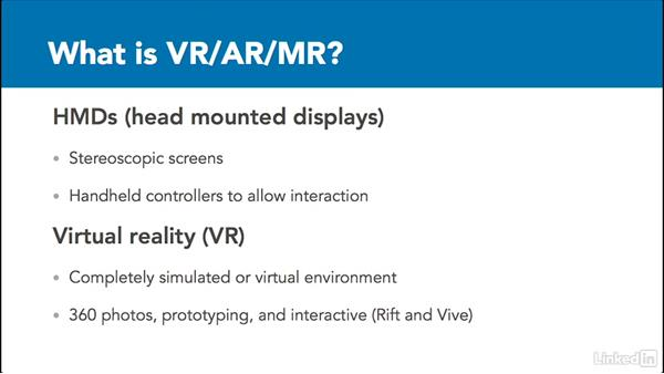 Virtual reality, augmented reality, and mixed reality: 3D Content Creation for Virtual Reality