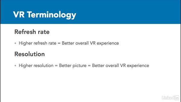 VR terminology: 3D Content Creation for Virtual Reality