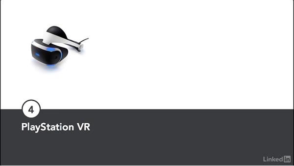 Head Mounted Display (HMD) options: 3D Content Creation for Virtual Reality