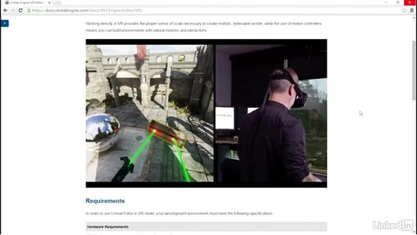 Unreal virtual reality technology: 3D Content Creation for Virtual Reality