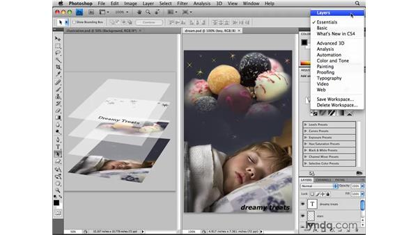 What is a layer?: Photoshop CS4: Layers in Depth