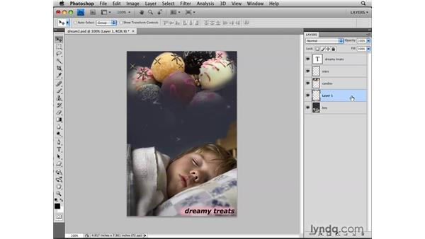What are the advantages of layers?: Photoshop CS4: Layers in Depth