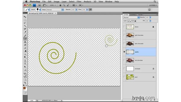 Locking layers: Photoshop CS4: Layers in Depth