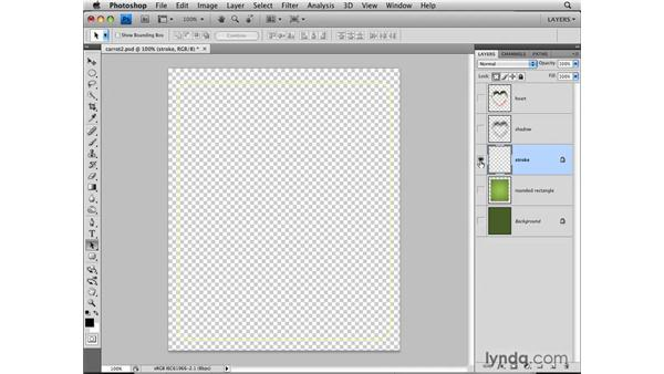 Protecting transparency: Photoshop CS4: Layers in Depth