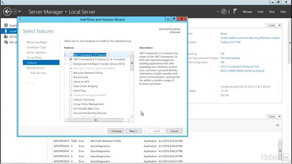 Install the AD FS proxy: Office 365: Implement Identities for SSO