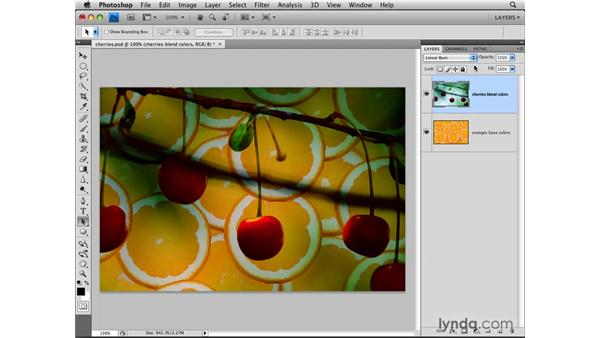Choosing a blend mode: Photoshop CS4: Layers in Depth