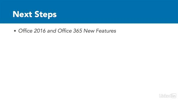 Next steps: Migrating from Office 2007 to Office 2016