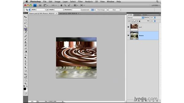 Auto-blending layers: Photoshop CS4: Layers in Depth