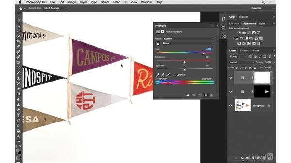 Masking in color changes: Photoshop CC: Creative Color for Photographers