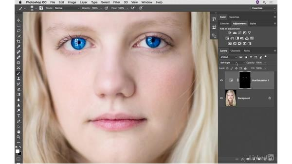 Three ways to change eye color, part 1: Photoshop CC: Creative Color for Photographers