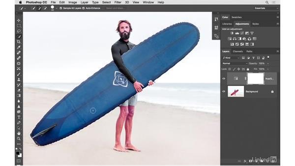 Solution: Color change, part 1: Photoshop CC: Creative Color for Photographers