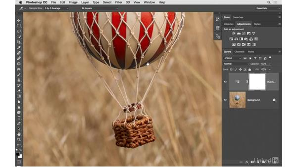 Solution: Color change, part 2: Photoshop CC: Creative Color for Photographers