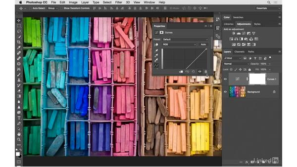 Creating vivid color with adjustment layers: Photoshop CC: Creative Color for Photographers