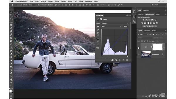 Using Curves and Color Balance together: Photoshop CC: Creative Color for Photographers
