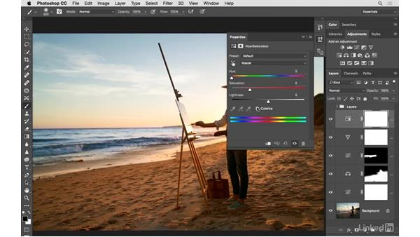Improving an image from start to finish: Photoshop CC: Creative Color for Photographers