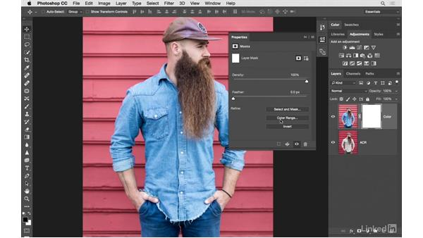 Using Camera Raw and masking for professional results: Photoshop CC: Creative Color for Photographers