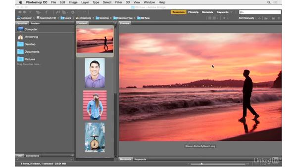 Using Camera Raw to create vivid and magical color: Photoshop CC: Creative Color for Photographers