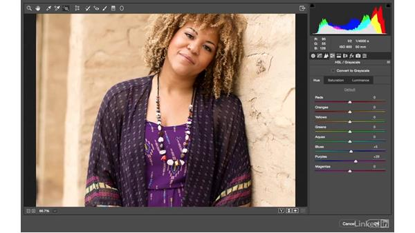 Solution: Camera Raw color change: Photoshop CC: Creative Color for Photographers