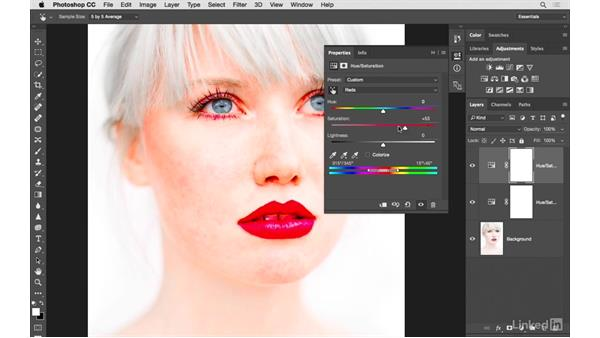 Fine-tuning the color of a portrait: Photoshop CC: Creative Color for Photographers