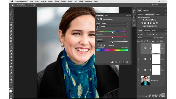 Advanced fine-tuning with multiple adjustments: Photoshop CC: Creative Color for Photographers