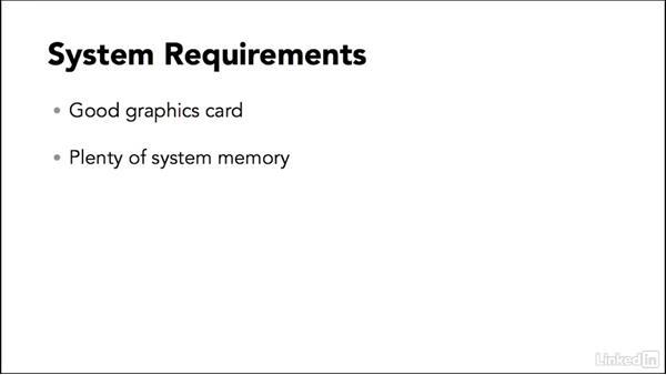 System requirements: Maya 2017 Essential Training