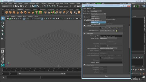 Notes on the Arnold renderer: Maya 2017 Essential Training