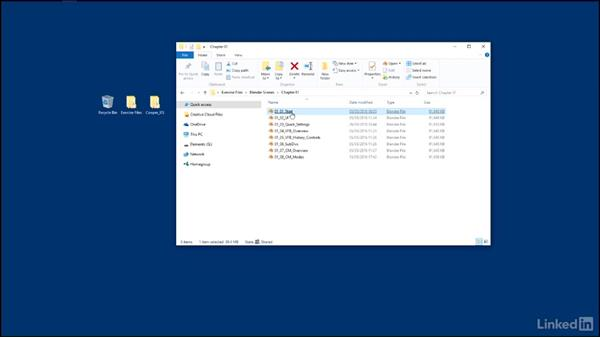 Using the exercise files: Blender: V-Ray 3.0 Basics