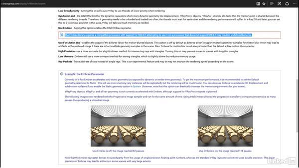 Using Intel Embree: Blender: V-Ray 3.0 Basics