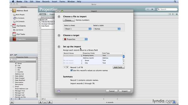 Importing Numbers and Excel files: Bento 2 New Features
