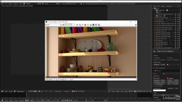 Overview of V-Ray frame buffer controls: Blender: V-Ray 3.0 Basics