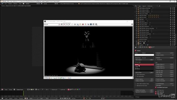 Exploring V-Ray light types: Spot: Blender: V-Ray 3.0 Basics