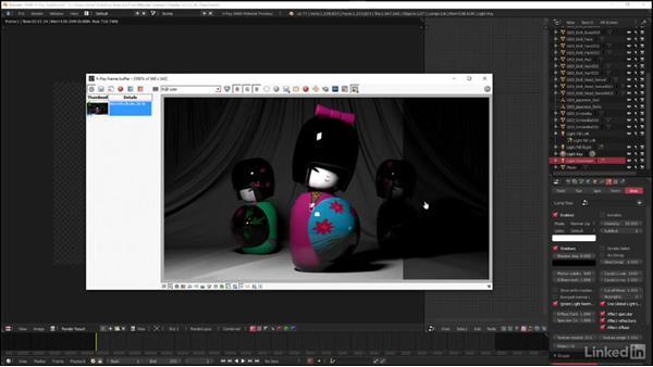 Exploring V-Ray light types: Area: Blender: V-Ray 3.0 Basics