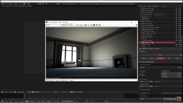 Applying brute force GI: Blender: V-Ray 3.0 Basics