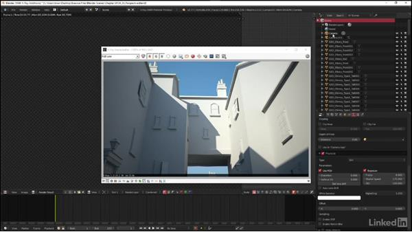 Handling perspective correction: Blender: V-Ray 3.0 Basics