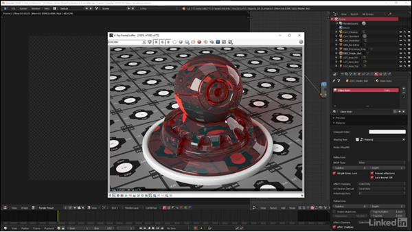 Creating colored and frosted glass: Blender: V-Ray 3.0 Basics