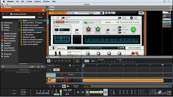 Create music with the players: Learn Reason 9: The Basics