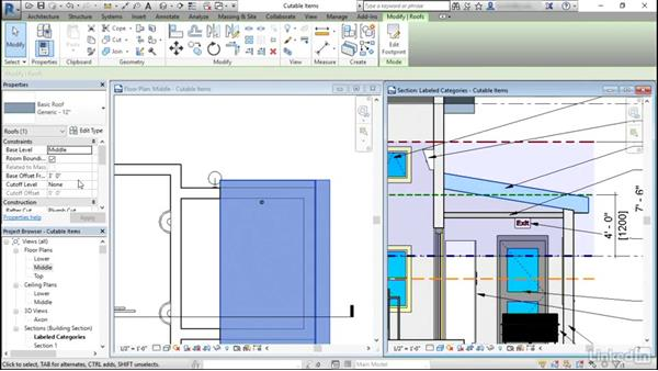 Special rules for floors and walls: Revit: View Range
