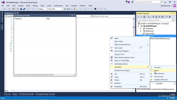 Source control from the IDE: Visual Studio 2015 Essentials 10: Protecting Your Code Base with Source Control Providers