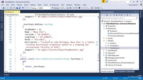 Change a project from a second team member: Visual Studio 2015 Essentials 10: Protecting Your Code Base with Source Control Providers