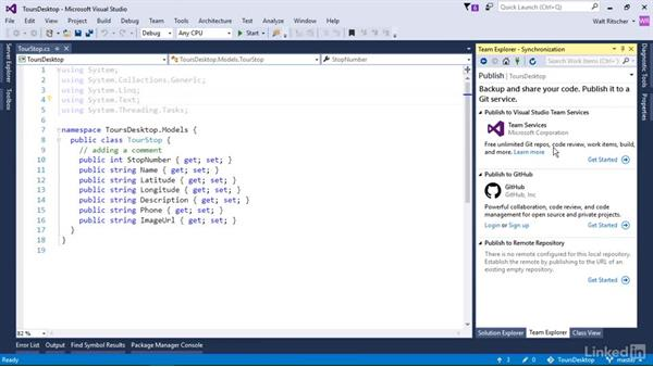 Survey the Git host providers: Visual Studio 2015 Essentials 10: Protecting Your Code Base with Source Control Providers