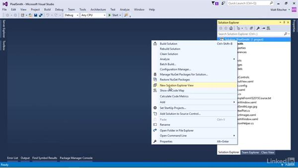 Publish repo to GitHub: Visual Studio 2015 Essentials 10: Protecting Your Code Base with Source Control Providers