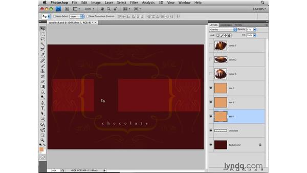 Aligning with Snap: Photoshop CS4: Layers in Depth