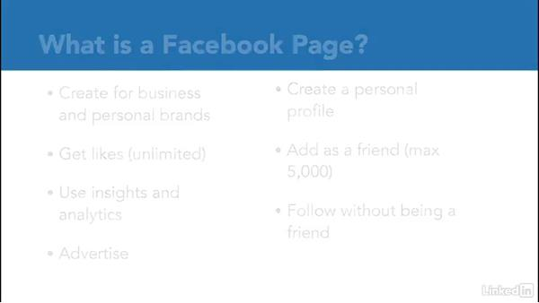 What is a Facebook page?: Facebook for Business